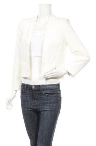 Γυναικείο σακάκι Topshop, Μέγεθος M, Χρώμα Λευκό, Πολυεστέρας, Τιμή 15,59€