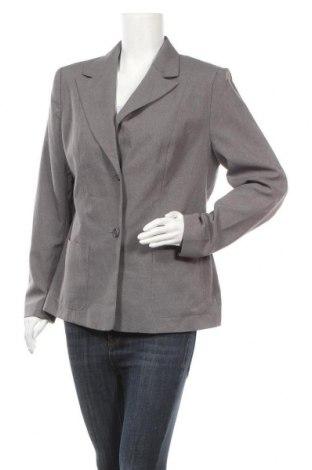 Дамско сако Trend, Размер L, Цвят Сив, Полиестер, Цена 7,35лв.