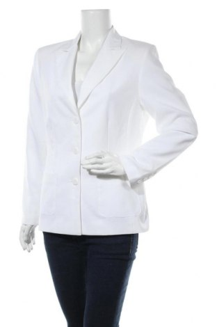 Дамско сако Trend, Размер L, Цвят Бял, Полиестер, Цена 18,48лв.