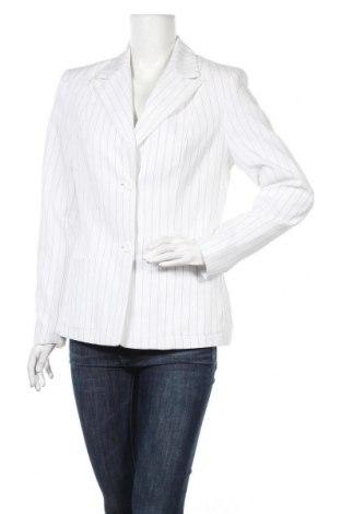 Дамско сако Trend, Размер M, Цвят Бял, 97% полиестер, 3% еластан, Цена 10,63лв.