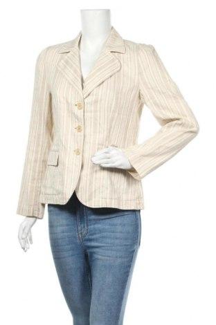Дамско сако Turnover, Размер M, Цвят Бежов, 63% памук, 37% лен, Цена 17,33лв.