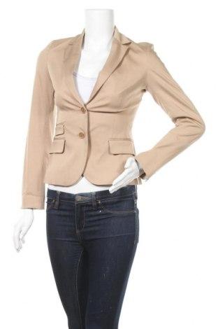 Дамско сако Turnover, Размер XS, Цвят Бежов, 96% памук, 4% еластан, Цена 11,03лв.