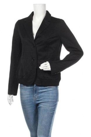 Дамско сако Turnover, Размер M, Цвят Черен, 50% памук, 50% вълна, Цена 9,45лв.