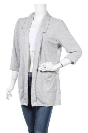 Γυναικείο σακάκι Up 2 Fashion, Μέγεθος L, Χρώμα Γκρί, 67% πολυεστέρας, 30% βισκόζη, 3% ελαστάνη, Τιμή 6,14€