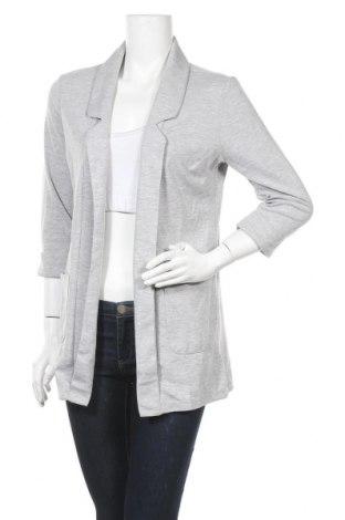 Γυναικείο σακάκι Up 2 Fashion, Μέγεθος M, Χρώμα Γκρί, 67% πολυεστέρας, 30% βισκόζη, 3% ελαστάνη, Τιμή 15,20€