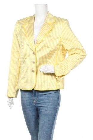 Γυναικείο σακάκι Vera Mont, Μέγεθος XL, Χρώμα Κίτρινο, Ασετάτ, Τιμή 40,85€