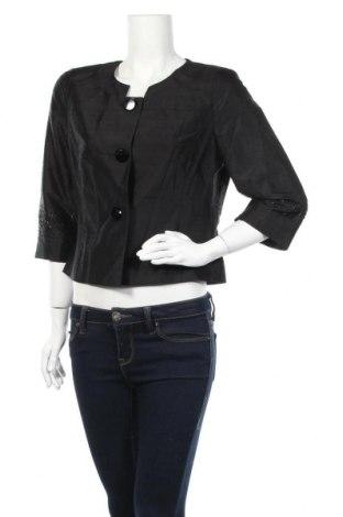 Γυναικείο σακάκι Vera Mont, Μέγεθος L, Χρώμα Μαύρο, Μετάξι, Τιμή 26,89€