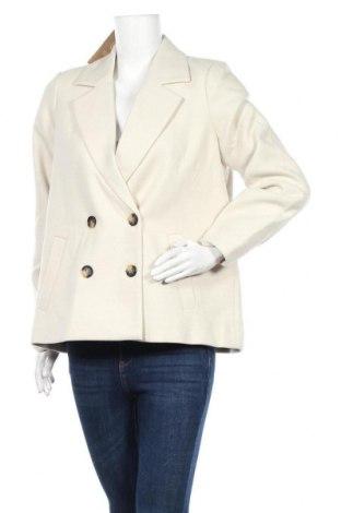 Дамско палто Vero Moda, Размер S, Цвят Бежов, 89% полиестер, 10% вискоза, 1% еластан, Цена 48,95лв.
