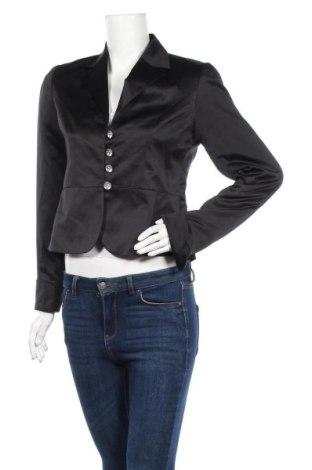 Дамско сако Vivien Caron, Размер S, Цвят Черен, Полиестер, Цена 7,35лв.