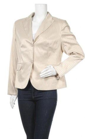 Дамско сако Vivien Caron, Размер L, Цвят Бежов, 97% полиестер, 3% еластан, Цена 23,52лв.