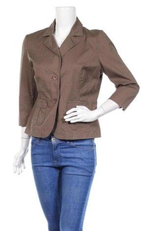 Дамско сако Woodpecker, Размер L, Цвят Кафяв, 98% памук, 2% еластан, Цена 6,56лв.