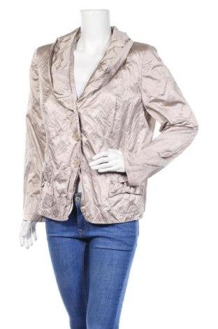 Γυναικείο σακάκι Yorn, Μέγεθος XL, Χρώμα  Μπέζ, 52% βαμβάκι, 42% πολυεστέρας, 6% ελαστάνη, Τιμή 5,91€