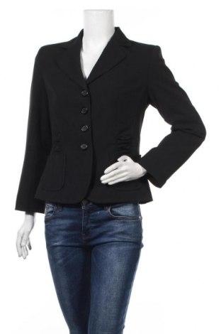 Γυναικείο σακάκι Yorn, Μέγεθος M, Χρώμα Μαύρο, 64% πολυεστέρας, 31% βισκόζη, 5% ελαστάνη, Τιμή 11,37€