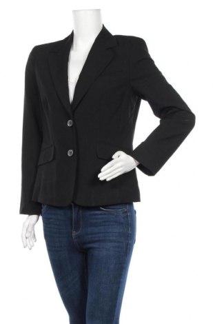 Γυναικείο σακάκι Yorn, Μέγεθος M, Χρώμα Μαύρο, 64% πολυεστέρας, 31% βισκόζη, 5% ελαστάνη, Τιμή 5,46€