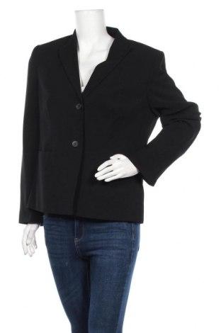 Γυναικείο σακάκι Yorn, Μέγεθος XL, Χρώμα Μαύρο, Πολυεστέρας, Τιμή 11,82€