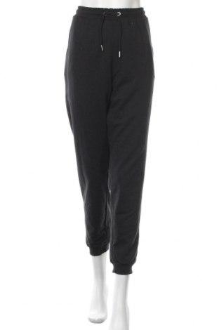 Дамско спортно долнище Even&Odd, Размер XL, Цвят Черен, 60% памук, 40% полиестер, Цена 25,52лв.