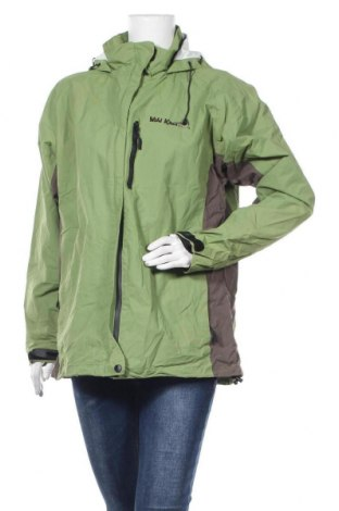 Дамско спортно яке, Размер XL, Цвят Зелен, Полиамид, Цена 16,60лв.