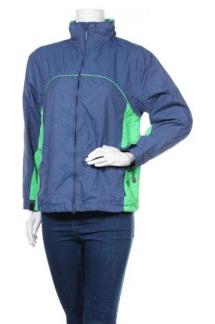 Дамско спортно яке, Размер S, Цвят Син, Полиестер, Цена 13,61лв.