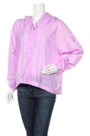 Γυναικείο μπουφάν αθλητικό Champion, Μέγεθος L, Χρώμα Βιολετί, Πολυεστέρας, Τιμή 8,64€