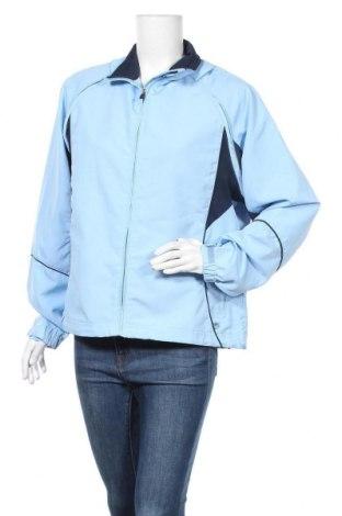 Дамско спортно яке Crane, Размер L, Цвят Син, Полиестер, Цена 12,37лв.