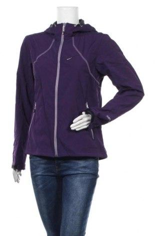 Γυναικείο μπουφάν αθλητικό Icepeak, Μέγεθος L, Χρώμα Βιολετί, 94% πολυεστέρας, 6% ελαστάνη, Τιμή 18,51€