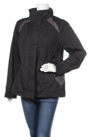 Γυναικείο μπουφάν αθλητικό Janina, Μέγεθος XL, Χρώμα Μαύρο, Πολυεστέρας, Τιμή 9,78€