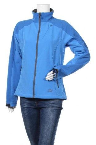 Дамско спортно яке L.L. Bean, Размер M, Цвят Син, 86% полиестер, 14% еластан, Цена 13,35лв.