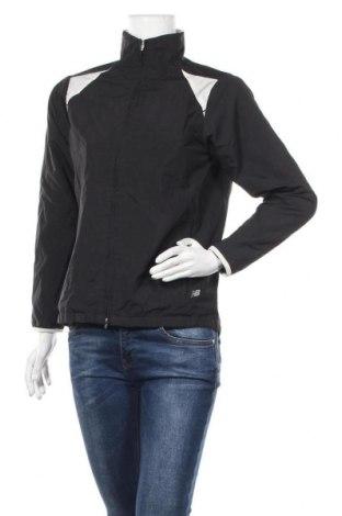 Γυναικείο μπουφάν αθλητικό New Balance, Μέγεθος S, Χρώμα Μαύρο, Πολυεστέρας, Τιμή 23,38€
