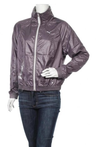 Γυναικείο μπουφάν αθλητικό PUMA, Μέγεθος M, Χρώμα Γκρί, Τιμή 31,82€
