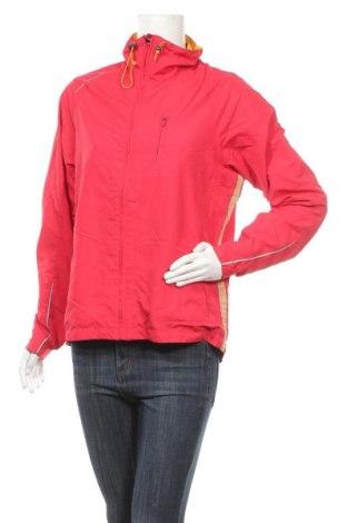 Дамско спортно яке, Размер L, Цвят Червен, Полиестер, Цена 8,14лв.
