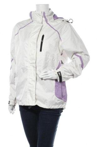 Γυναικείο μπουφάν αθλητικό Rodeo, Μέγεθος S, Χρώμα Εκρού, Πολυεστέρας, Τιμή 9,35€
