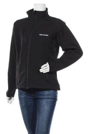 Дамско спортно яке Tee Jays, Размер L, Цвят Черен, Полиестер, Цена 11,81лв.