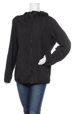 Дамско спортно яке Uniqlo, Размер XL, Цвят Черен, Полиестер, Цена 16,38лв.