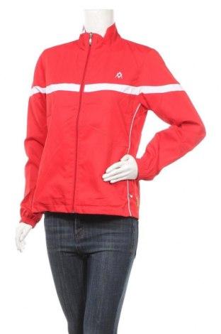 Дамско спортно яке VOLKL, Размер M, Цвят Червен, Полиестер, Цена 7,90лв.