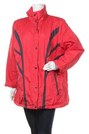 Дамско яке, Размер XXL, Цвят Червен, Полиестер, Цена 9,71лв.