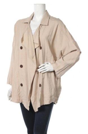 Дамско яке, Размер L, Цвят Бежов, Цена 9,45лв.