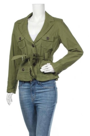 Дамско яке, Размер M, Цвят Зелен, 97% памук, 3% еластан, Цена 33,92лв.