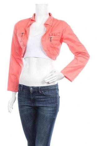 Дамско яке, Размер S, Цвят Розов, 60% вискоза, 40% памук, Цена 5,49лв.