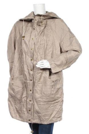 Дамско яке, Размер XL, Цвят Бежов, 75% вискоза, 25% полиамид, Цена 12,08лв.
