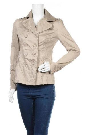 Дамско яке, Размер M, Цвят Бежов, 97% памук, 3% еластан, Цена 13,21лв.