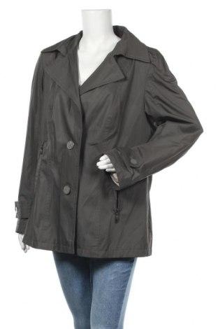 Дамско яке, Размер XL, Цвят Сив, 80% полиестер, 20% памук, Цена 7,14лв.