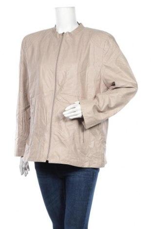 Дамско яке, Размер L, Цвят Бежов, 82% полиестер, 18% полиамид, Цена 10,42лв.