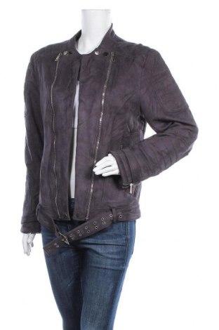 Дамско яке, Размер L, Цвят Сив, 90% полиестер, 10% еластан, Цена 31,08лв.