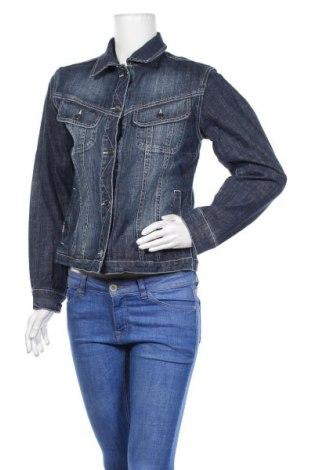 Дамско яке, Размер M, Цвят Син, 99% памук, 1% еластан, Цена 15,79лв.