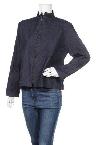 Дамско яке, Размер L, Цвят Син, 73% памук, 25% полиестер, 2% еластан, Цена 8,40лв.