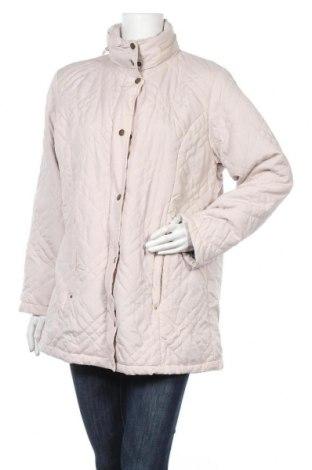 Дамско яке, Размер L, Цвят Бежов, Полиестер, Цена 12,43лв.