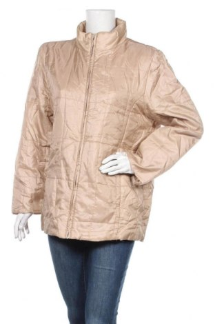 Дамско яке, Размер L, Цвят Бежов, 54% полиамид, 46% полиестер, Цена 11,27лв.