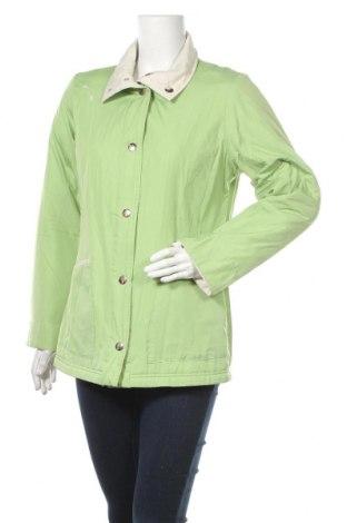 Дамско яке, Размер M, Цвят Зелен, Полиестер, Цена 11,55лв.