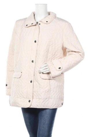 Дамско яке, Размер XL, Цвят Екрю, 100% полиестер, Цена 39,69лв.