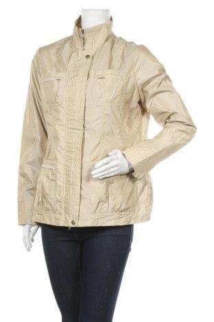 Дамско яке, Размер L, Цвят Бежов, 40% полиестер, 60% полиамид, Цена 10,42лв.